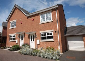 Thumbnail 3 bed semi-detached house for sale in Dobson Close, High Spen, Rowlands Gill