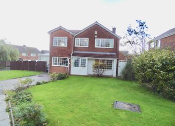 Thumbnail 4 bed detached house for sale in Melton Drive, Bury