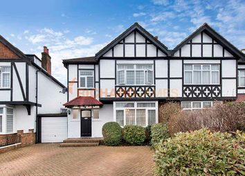 Thumbnail 3 bed semi-detached house for sale in Sefton Avenue, London