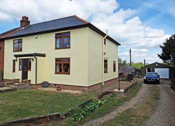 Thumbnail 4 bedroom semi-detached house for sale in Bury Road, Stuston, Diss