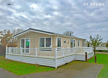 Thumbnail 3 bed lodge for sale in Rottenstone Lane, Scratby, Great Yarmouth