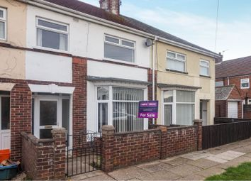 Thumbnail 3 bed terraced house for sale in Warwick Avenue, Grimsby