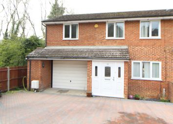 Thumbnail 4 bed semi-detached house for sale in Cherbourg Crescent, Walderslade