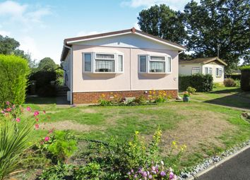 Thumbnail 2 bed mobile/park home for sale in Foxhall Road, Rushmere St. Andrew, Ipswich
