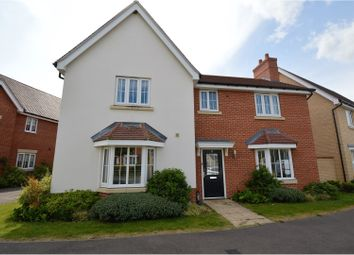 Thumbnail 4 bedroom detached house for sale in Burgattes Road, Dunmow