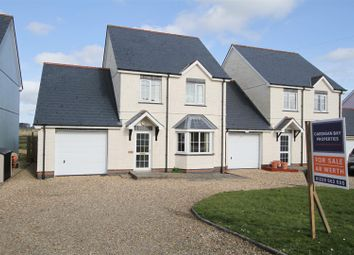 Thumbnail 3 bed link-detached house for sale in Bowls Road, Blaenporth, Cardigan