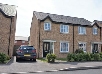 Thumbnail 3 bed semi-detached house for sale in Merevale Way, Stenson Fields, Derby