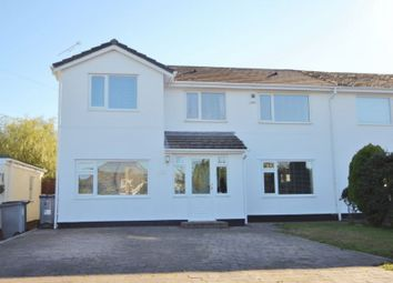 Thumbnail 5 bed semi-detached house for sale in Sandham Grove, Heswall, Wirral