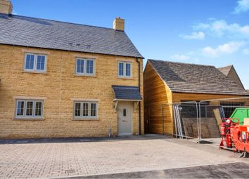 Thumbnail 2 bed semi-detached house for sale in 4 Swailbrook Place, Kingham, Chipping Norton