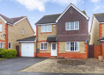 Thumbnail 4 bed detached house for sale in Bentley Avenue, Yaxley, Peterborough
