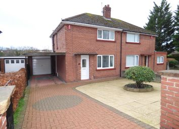 Thumbnail 2 bed semi-detached house for sale in Green Lane, Belle Vue, Carlisle