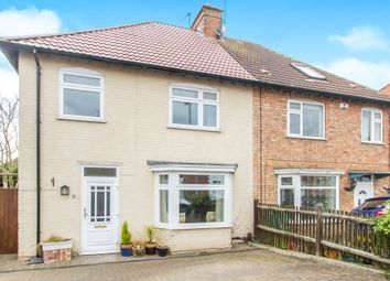 Thumbnail 3 bedroom semi-detached house for sale in Parkland Drive, Oadby, Leicester