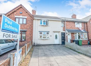 Thumbnail 2 bed terraced house for sale in Dickinson Drive, Walsall