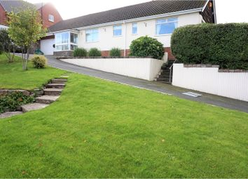Thumbnail 4 bed detached bungalow for sale in Gronant Road, Prestatyn