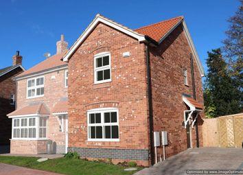 Thumbnail 2 bedroom end terrace house for sale in Hopfield, Hibaldstow, Brigg