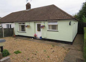 Thumbnail 2 bed semi-detached bungalow for sale in Newark Road, Peterborough