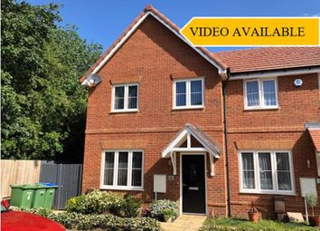 Thumbnail 3 bed end terrace house for sale in Utah Close, Fareham