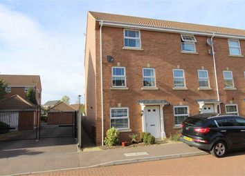 Thumbnail 4 bed town house for sale in Wellington Way, Heath Meadows, Leighton Buzzard