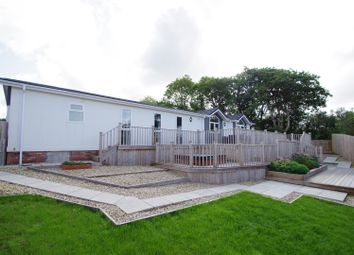 Thumbnail 4 bed mobile/park home for sale in Valley View, Halsinger, Braunton