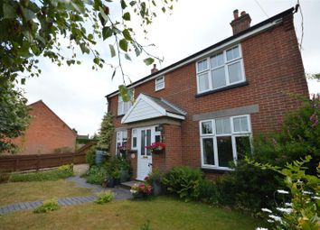 Thumbnail 4 bed detached house for sale in Chapel Road, Trunch, North Walsham