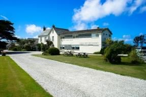 Thumbnail Hotel/guest house for sale in Bossiney House Hotel, (With Planning), Bossiney Road, Tintagel, Cornwall
