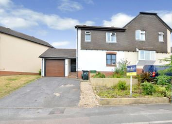 Thumbnail 2 bed semi-detached house to rent in Margaret Road, Ogwell, Newton Abbot, Devon