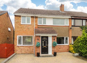 Thumbnail 3 bed semi-detached house for sale in Sunningdale Drive, Daventry