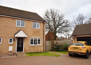 Thumbnail 3 bed semi-detached house for sale in Simpson Way, Wymondham