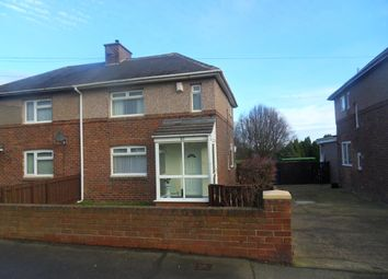 Thumbnail 2 bedroom semi-detached house for sale in Cochrane Terrace, Dinnington, Newcastle Upon Tyne