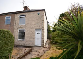 Thumbnail 2 bed end terrace house to rent in Ward Street, New Tupton, Chesterfield