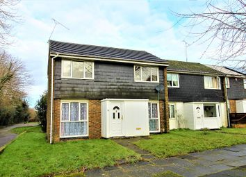 Thumbnail 3 bed end terrace house to rent in Teesdale, Crawley, West Sussex.