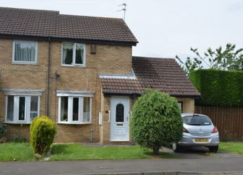 Thumbnail 2 bed semi-detached house for sale in Hassop Way, Bedlington
