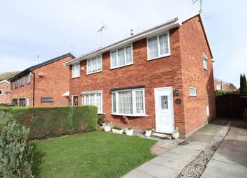 Thumbnail 3 bed semi-detached house for sale in St. Austell Avenue, Macclesfield