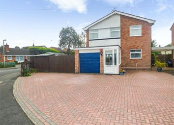 Thumbnail 4 bed detached house for sale in Windsor Drive, Market Drayton, Shropshire