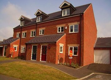 Thumbnail 3 bed town house to rent in Arthur Street, Castle Gresley, Swadlincote