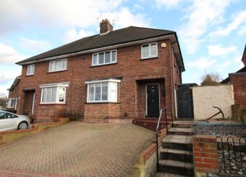 Thumbnail 3 bed semi-detached house for sale in St. Georges Crescent, Gravesend, Kent