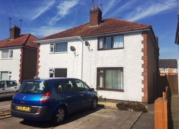 Thumbnail 3 bed semi-detached house to rent in Naseby Road, Rugby, Warwickshire