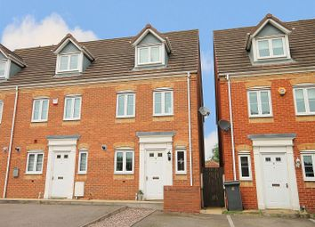Thumbnail 3 bed end terrace house for sale in Perry Close, Tamworth