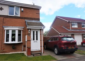 Thumbnail 2 bed semi-detached house for sale in Woodlands Grange, Newcastle Upon Tyne