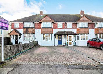 Thumbnail 3 bed terraced house for sale in Heathcroft Avenue, Sunbury-On-Thames