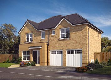 Thumbnail 4 bed detached house for sale in Glasgow Road, Denny