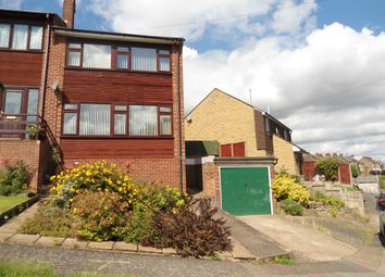 Thumbnail 3 bedroom end terrace house to rent in Lawn Close, Chatham