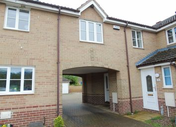 Thumbnail 1 bedroom terraced house for sale in Wallace Close, King's Lynn