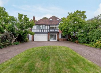 Thumbnail 4 bed detached house for sale in Streetly Lane, Sutton Coldfield
