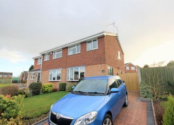 Thumbnail 3 bed semi-detached house for sale in Runnymede, Stone
