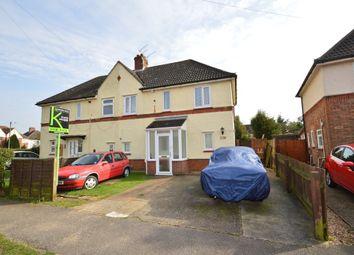Thumbnail 3 bedroom semi-detached house for sale in Hilton Road, Ipswich