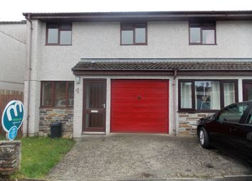 Thumbnail 2 bed semi-detached house to rent in Rebecca Close, St. Blazey, Par
