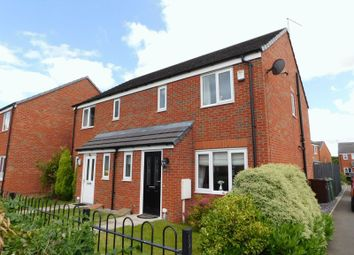 Thumbnail 3 bed semi-detached house for sale in Fieldhouse Way, Stafford