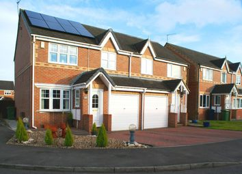 Thumbnail 3 bed semi-detached house for sale in Marwell Drive, Washington