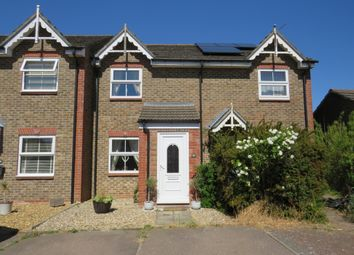 Thumbnail 2 bed terraced house for sale in Freeland Close, Taverham, Norwich
